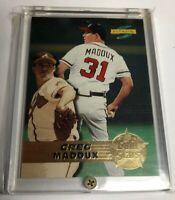 1996 Score Gold Stars #17 Greg Maddux Atlanta Braves HOF
