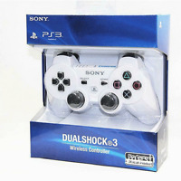 Brand NEW Sony PlayStation 3 PS3 DualShock 3 Wireless SixAxis Controller White j