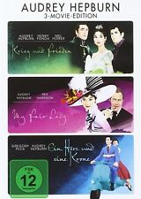 AUDREY HEPBURN MOVIE EDITION: KRIEG&FRIEDEN/FAIR LADY/+  3DVD NEU HENRY FONDA/+