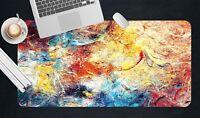 3D Brillante Farbe 1 Textur Rutschfest Büro Schreibtisch Mauspad Tastatur Spiel
