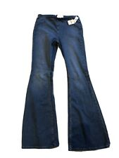Free People Flares Jeans Size 29 Blue