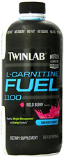 Twinlab L-Carnitine Fuel Liquid Wildberry Amino Acid Fat Burn Heathy Diet 16 oz
