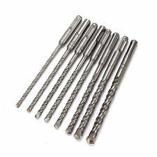 8 SDS PLUS TCT MASONRY DRILL BITS. 5, 5.5, 6, 6.5, 7, 8, 10 & 12MM x 160MM