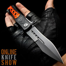 "8.25"" TAC FORCE EMT SPRING ASSISTED TACTICAL STILETTO KNIFE Folding Pocket Blade"