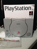 Sony Playstation Original Console With Cords And Box