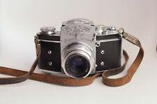 Exakta Varex VX + Carl Zeiss Jena Tessar 50mm f2.8 lens