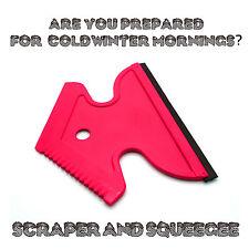 Heavy Duty Ice Scraper & Squeegee for Car Window Windscreen Frost Snow Winter R