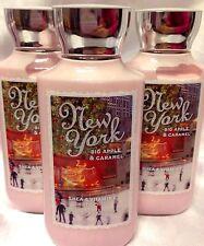 New York Big Apple & Caramel Bath & Body Works Body lotion hand cream set of 3