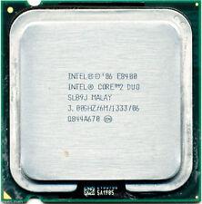 Lot Of 2 Intel Core 2 Duo E8400 3.0GHz LGA-775 Desktop CPU Processor SLB9J Wty
