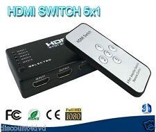Laptone Lcp2422 5 Port Auto/manuel HDMI Commutateur / Switch Avec...