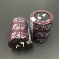 5pcs 470uF 450V Japan NCC Nippon LXS 35x45mm 450V470uF Snap-in Capacitor