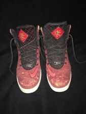 2014 Nike LeBron James XI NSW Lifestyle Red Cork 616766-601 Shoes Men's Size 8