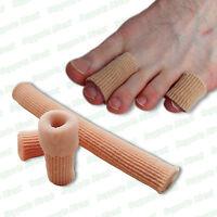Gel Toe Tube Bandage Sore Finger Cushion Corns Calluses Bunion Blister Pain Cuts