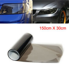 30x 150cm Light Smoke Black Film Tint Headlights Tail lights Auto Car Vinyl Wrap
