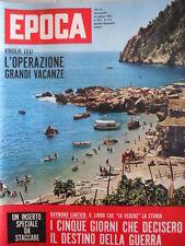 EPOCA n°622 1962 Sue Lyon - Pietro Nenni - Sherry Finkbine   [C79]