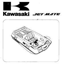 1988 - 1992 Kawasaki Jet Mate Service Manual  (Jetski PWC) - PDF on CD