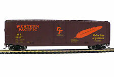 Free Shipping!* HO Scale Model Railroad Trains Western Pacific Boxcar 931-1675