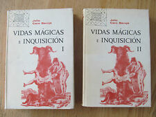 Vidas mágicas e inquisicíon vol. 1-2 CARO BAROJA 1967 Sorcerers & Inquisition