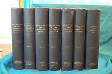 Hugo De Vries Opera E Periodicis Collata 7 volumes Utrecht Oosthoek 1918
