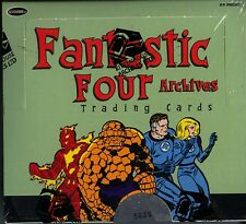 Fantastic Four Archives Trading Card Box MINT Sketch Card inside