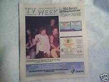 2003 THE ROLLING STONES Mick Jagger Keith Richards TV WEEK,ron wood,charlie watt