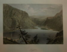 IRELAND. LUGGELA, COUNTY WICKLOW BY WILLIAM BARTLETT CIRCA 1840.