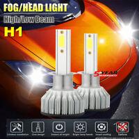 2x CREE H1 LED Headlight Bulbs Conversion Kit 2000W 480000LM 6000K Hi/Lo Beam JO