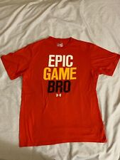 EPIC GAME BRO UNDERARMOUR HEAT GEAR 60% Cotton 40% Polyester SIZE L
