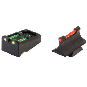 Truglo TG961R Slug Series Fiber Optic sight Set for Remington 870/1100/1187