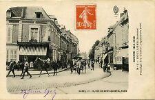 CARTE POSTALE / GUERRE 14/18 DOULLENS PASSAGE DES UHLANS 1914
