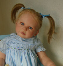 Beautiful lifelike GIRL TODDLER doll from Ann Timmerman 'Lily-Beth' sculpt