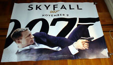 SKYFALL 007 James Bond 5FT SUBWAY MOVIE POSTER 2012 Daniel Craig