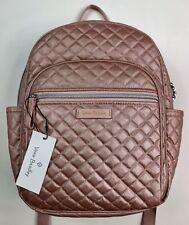 Vera Bradley Iconic Small Backpack in Rose Quartz