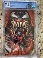 Venom #26 CGC 9.8 Tyler Kirkham TOP SECRET VIRGIN Variant 1st Appearance Virus