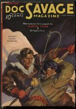 Doc Savage 1936 June.  Pulp.