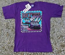 Vintage Logo 7 1995 Indianapolis Brickyard 400 T-Shirt XL purple Made in USA NOS