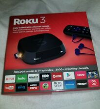 Roku 3 Streaming Media Player (4230R) with Voice Search.