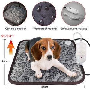 Pet Cat Dog Puppy Waterproof Electric Heating Pad Heater Warmer Mat Bed Blanket