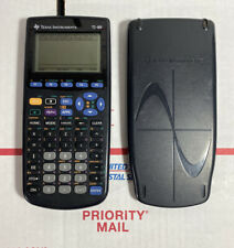 MINT SCREEN Texas Instruments TI-89 Graphing Calculator +batteries - WARRANTY