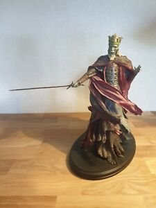 Lord of the Rings Herr der Ringe Figur/Statue-King of the Dead-Weta sideshow