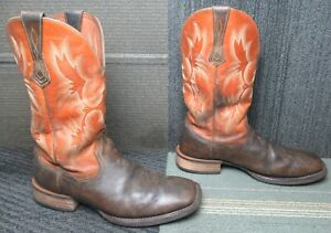 Mens ARIAT Tombstone Western Leather Cowboy Boots sz 13 D