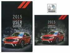 2015 Dodge Journey Truck User Guide plus Owners Manual DVD Operator Book Fuses