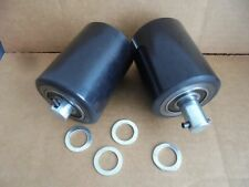 """Pallet Jack Poly Load Wheels With Bearings 2.875""""  x 3.67"""" (2 Wheels)"""