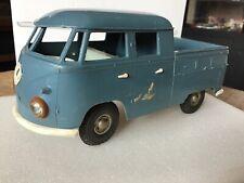 Vintage Plastic Volkswagen Crewcab Type 2 Pick Up Truck made by Steiff Rare