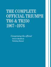 Triumph Tr6 & Tr250 1967-76 Repair Workshop Manual Book Hardcover Robert Bentley