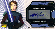 Star Wars Clone Wars Season 1 Widevision Voice Actor Autograph- Anakin Skywalker