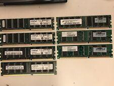 Samgung 4x1GB plus HP 256MB and 128MB LOT of Memory Cards