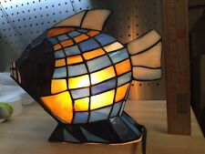 Home Decorating Coral Reef FishTiffany Style Small Table Lamp Great Decoration