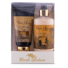 Camille Beckman Hand & Body Duet, Silky Body & Glycerine Hand Cream Tuscan Honey