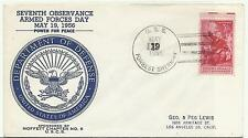 1956 USS Forrest Sherman Armed Forces Day Moffett Chapter Numbered